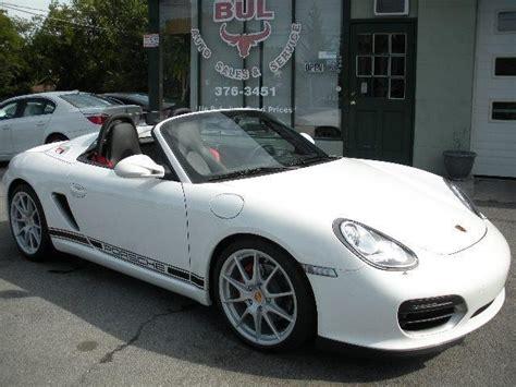 2011 Porsche Boxster Spyder Stock 11180 For Sale Near
