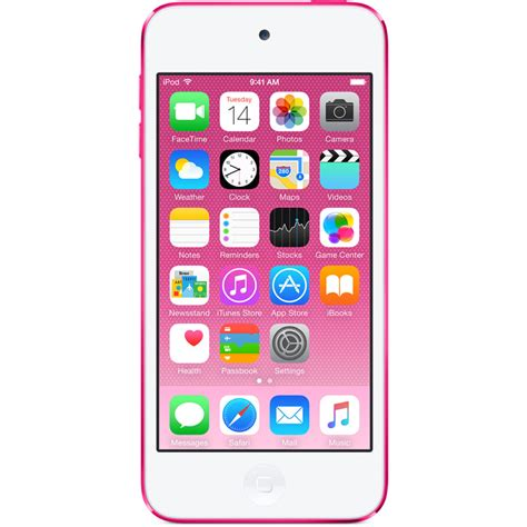 apple 32gb ipod touch pink 6th generation mkhq2ll a b h