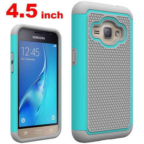 2 Samsung Galaxy J1 Custom 1 for galaxy j1 2016 heavy duty shockproof silicone