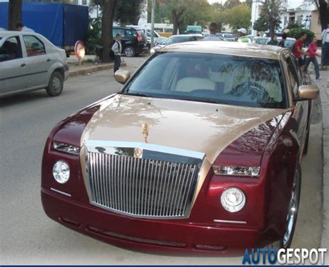 chrysler rolls royce phantom replica car tuning