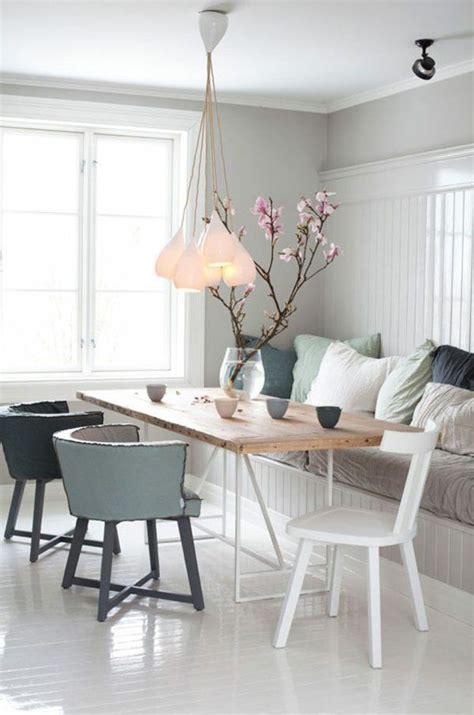 esszimmer stühle und bank modernes esszimmer interieur vorschl 228 ge unterschiedliche