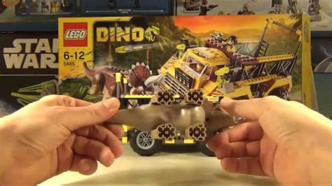 Jumper 1 Set Dino lego dino 2012 set 5885 triceratops trapper review