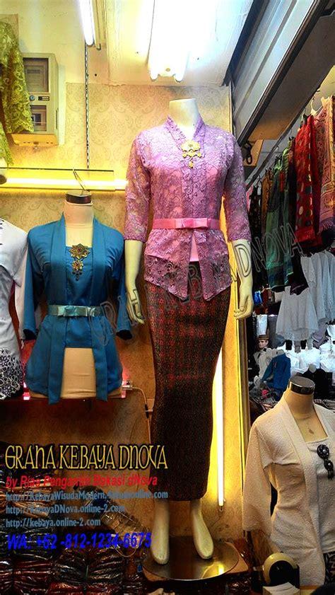 Kebaya Kartini Payet Lengan Panjang fashion wedding kebaya baju kebaya dnova