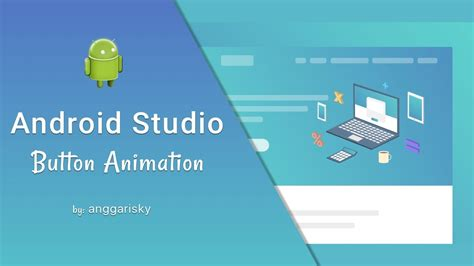 tutorial android animation button animation using android xml tutorial youtube