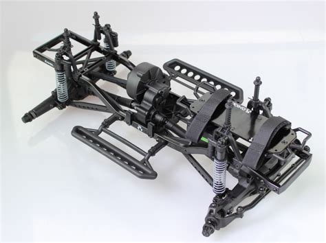 axial  scx complete roller rolling chassis