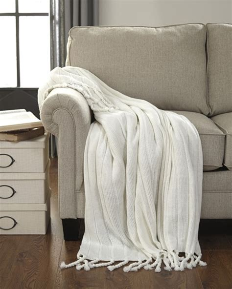 White Throws For Sofas by 3 Furniture Clarence White Throws The Home