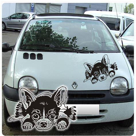 Autoaufkleber Chihuahua by Auto Aufkleber Chihuahua Autoaufkleber Hunde Sticker