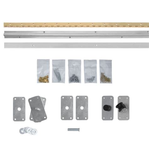 Bi Fold Wardrobe Door Fittings by Johnson Hardware 170a Series 36 In 2 Panel Bi Fold Door Hardware For 18 In Panels 170a363h