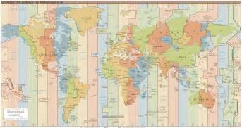 Map With Time Zones by The Case Against Time Zones They Re Impractical