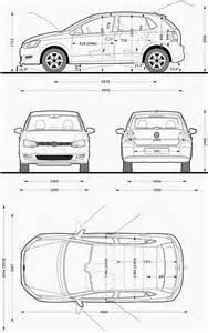 Blueprint Sketch Volkswagen Polo 2009 Blueprint Download Free Blueprint