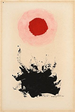 thesis abstract expressionism 27 best adolph gottlieb by widewalls images on pinterest