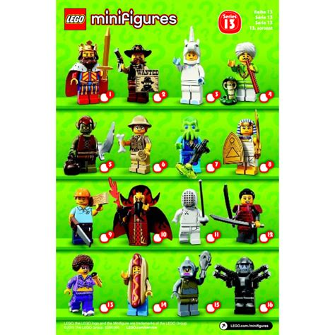 Lego Minifigure Series 13 lego series 13 minifigure random bag set 71008 0