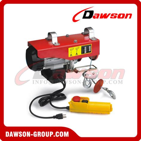 mini electric hoist electric wire rope hoist  lifting china manufacturer supplier factory