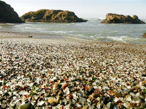 Find In California Glass In Fort Bragg California A Sea Glass Lover S Find Sea Glass