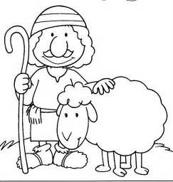 lost sheep coloring page 16 jpg