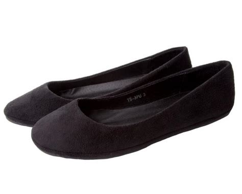 black flat dolly shoes womens black flat microsuede dolly pumps shoes uk