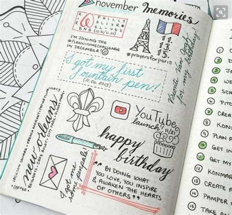 layout page nedir id 233 es bullet journal listes collections violette factory