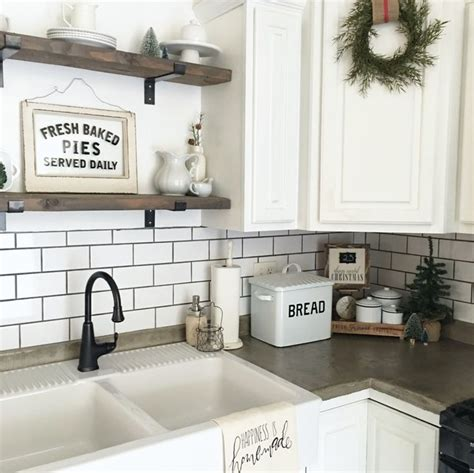 Farmhouse Kitchen Backsplash Best 20 Shelf Above Window Ideas On Above Window Decor Cabinet Top Decorating And