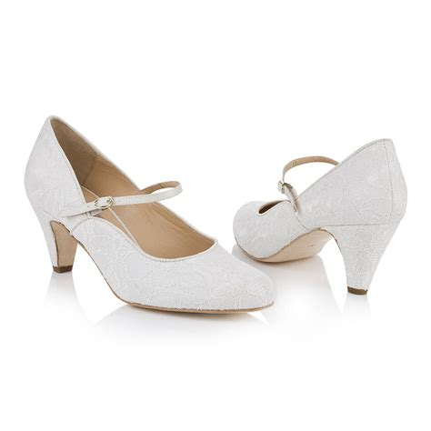 Wedding Shoes Janes by Ivory Wedding Shoes Ivory Sandals