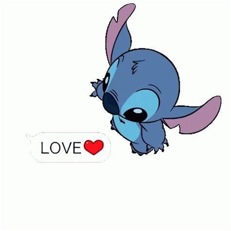 imagenes que ponga i love you stitch love gifs tenor