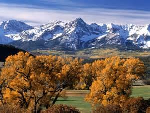 colorado colors sneffels range colorado autumn colors colorado mountain