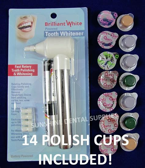 electric tooth polisher multi flavored medium grit prof