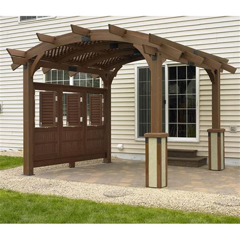 douglas fir pergola the sonoma 12 pergola mocha by the outdoor greatroom company outdoor rooms family leisure