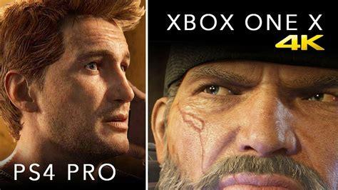 One Graphic 22 xbox one x vs ps4 pro graphics specs price more 4k