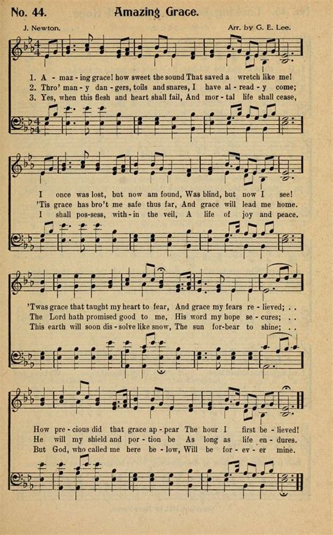printable sheet music hymns the golden sheaf no 2 a collection of gospel hymns new
