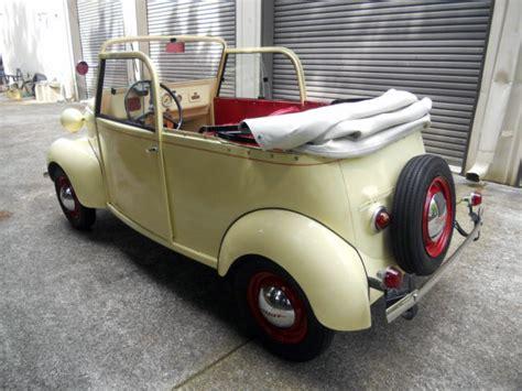 crosley car big ideas for a small car 1940 crosley convertible ebay