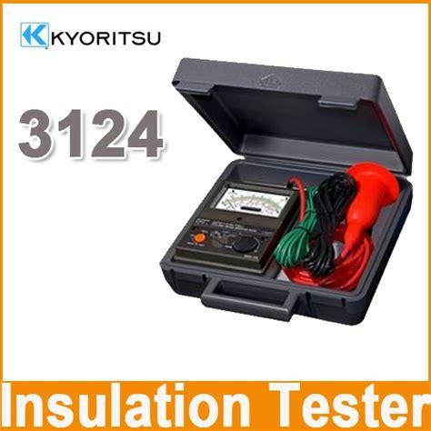 Insulation Tester Kyoritsu 3128 High Voltage Insulation Tester kyoritsu 3124 high voltage insulation tester