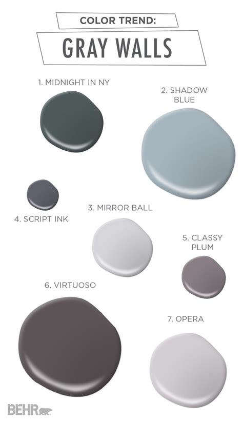 behr paint colors shades of gray 100 best gray and black rooms images on
