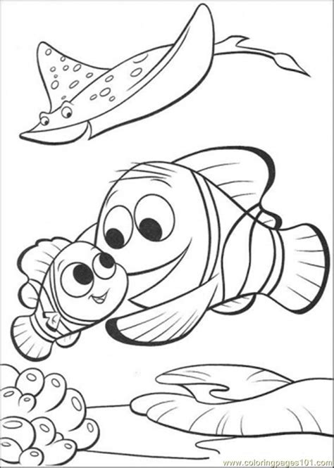 finding nemo coloring pages pdf coloring pages merlin is finding nemo cartoons gt finding