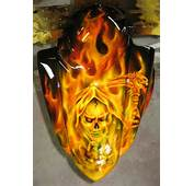 Custom Motorcycle Painting Airbrushed Paint By James Scott Tacoma WA
