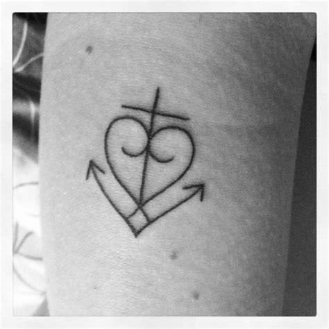 anchor cross heart tattoo 1 corinthians 13 13 possible new favorite verse
