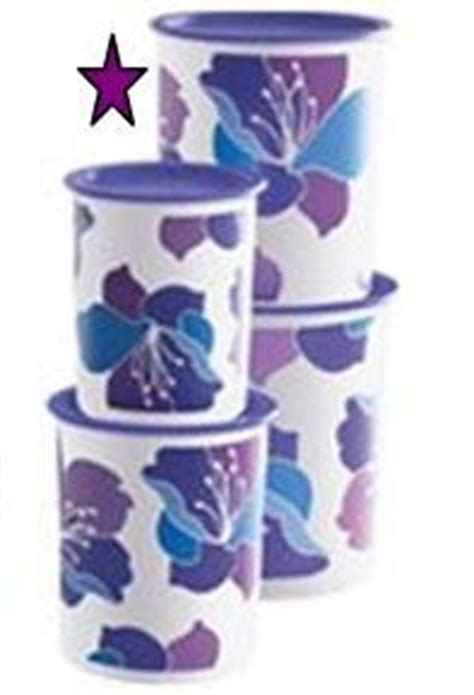 Blossom Lavender Tupperware tupperware purple blossoms one touch 174 size canister set kitchen dining