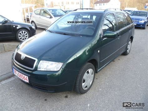 skoda fabia comfort 1 9 tdi 2003 skoda fabia combi 1 9 tdi comfort car photo and specs