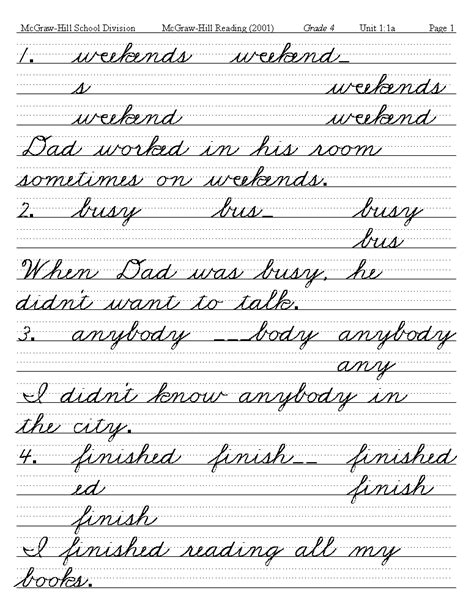cursive writing exles 42 images how to write in