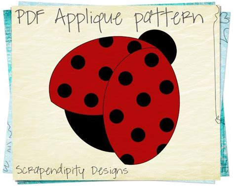 Ladybug Quilt Patterns by Ladybug By Scrapendipity Quilting Pattern