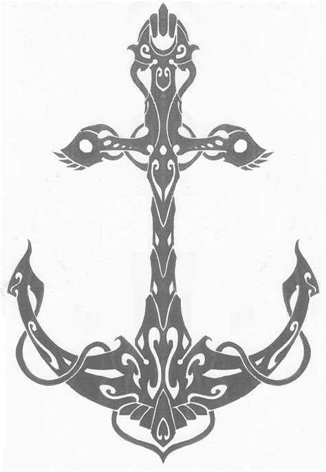 tribal anchor tattoo tattoos on anchor tattoos anchors and the anchor