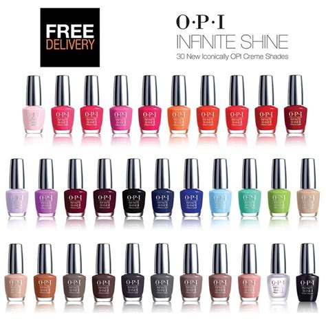 Opi Infinite Shine Alpine Snow opi infinite shine nail lacquer all range of colours and cpgds consortium