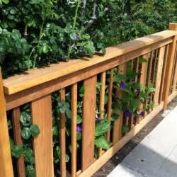 Outdoor Deck Spindles Best 25 Wood Deck Railing Ideas On Deck