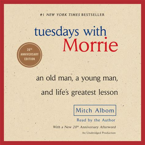 Tuedays With Morrie Tuesdays With Morrie By Mitch Albom Book Ebook