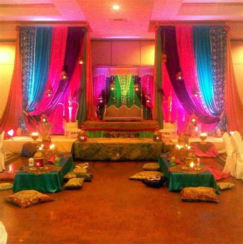 mehndi themed events mehndi party stage decor wedding ideas pinterest