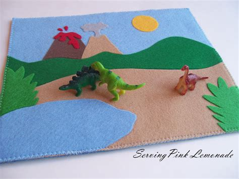 dinosaur play rug dinosaur play mat family craftsfun family crafts