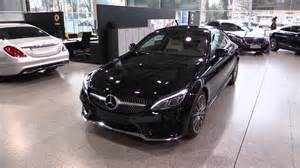 mercedes c class coupe 2017 in depth review interior