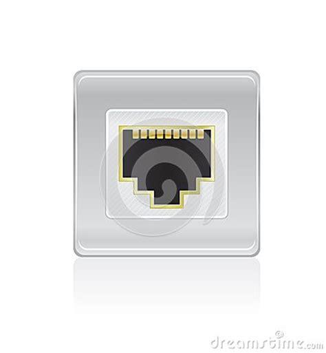 porte di rete icona lucida della porta di rete fotografia stock libera