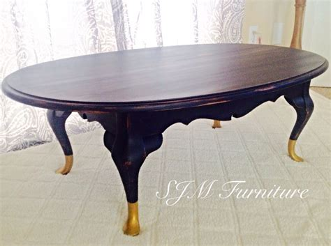 navy blue coffee table with golden 120 a beautiful