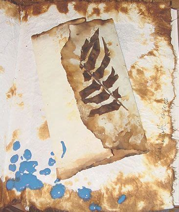 How To Make A Paper Look Burnt - great idea for achieving a burned look on paper