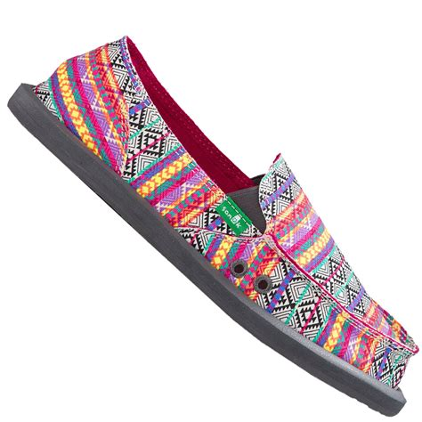 Tribal Magenta sanuk sidewalk surfer donna tribal magenta multi tribal